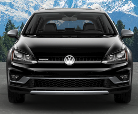 2019 Volkswagen Golf Alltrack in Deep Black Pearl