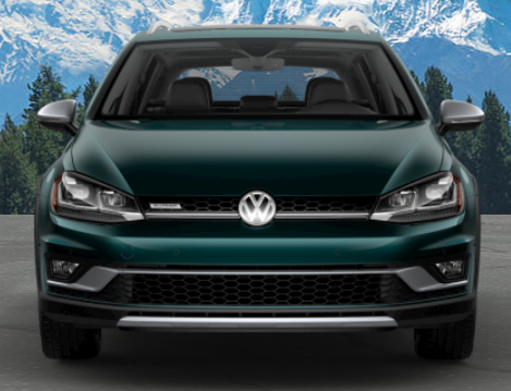 2019 Volkswagen Golf Alltrack in Great Falls Green Metallic