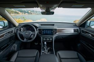 front interior of a 2020 VW Atlas