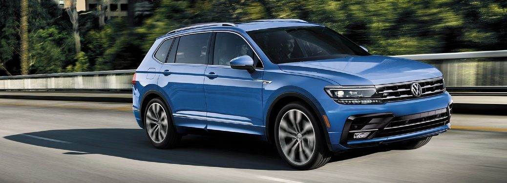 side view of a 2020 VW Tiguan