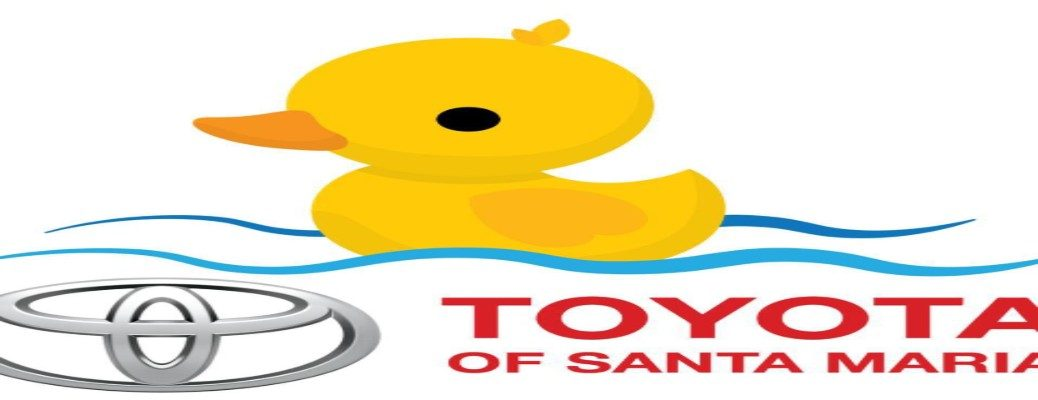 Duck banner for Toyota of Santa Maria