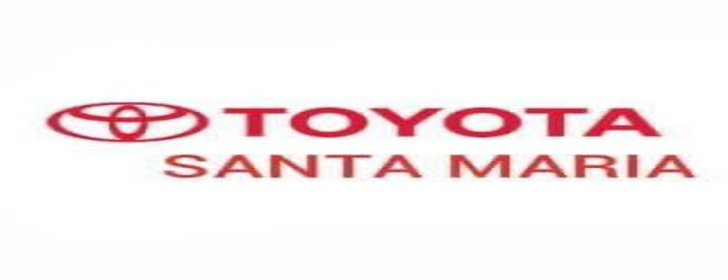 Text banner for Toyota of Santa Maria