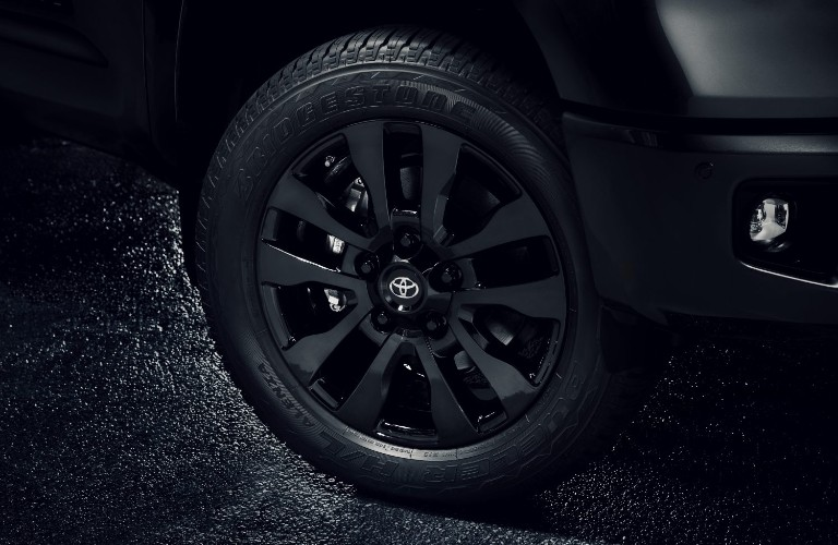 2021 Toyota Tundra Nightshade Edition wheel