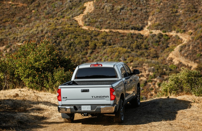 rear of 2021 Toyota Tundra Trail Special Editions