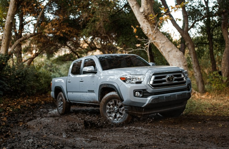 2021 Toyota Trail Special Edition driving through forest