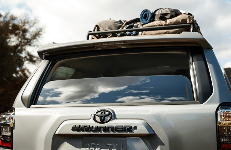 rear of 2021 Toyota 4Runner Trail Special Edition
