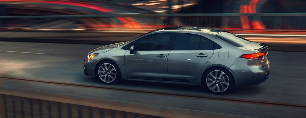 What safety features are included in the 2021 Toyota Corolla?