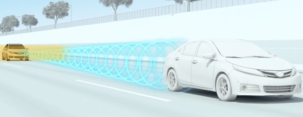 Demonstration of the Toyota Toyota Dynamic Radar Cruise Control System