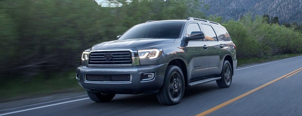 What's the horsepower and torque output of the 2020 Toyota Sequoia?