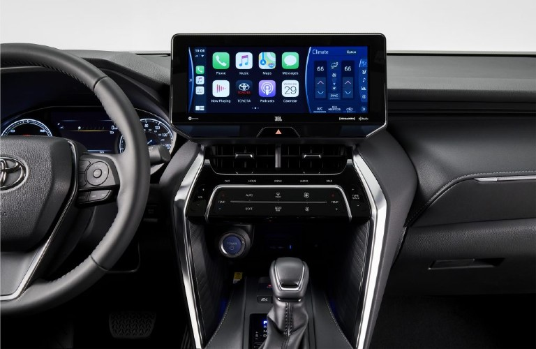 Interior view of the 2021 Venza
