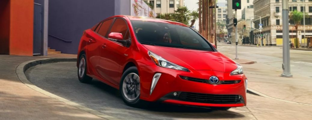 front view of the 2022 Toyota Prius