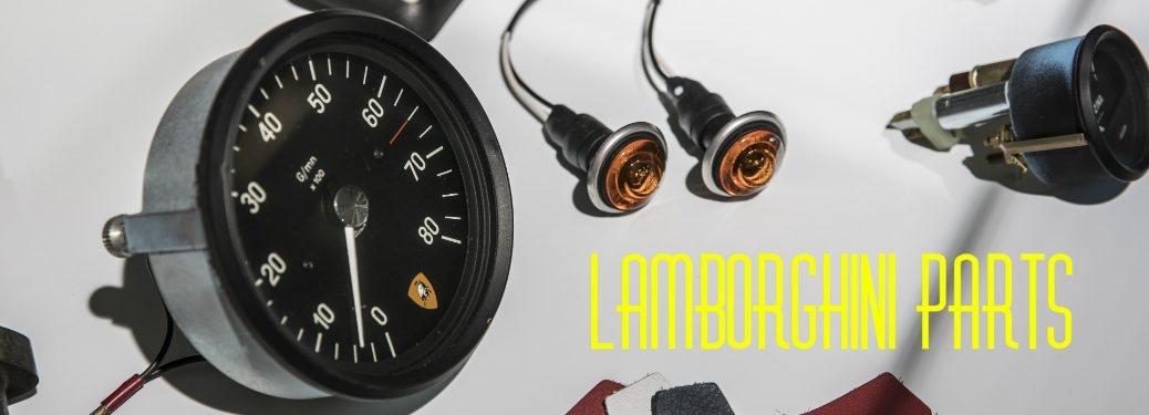 Lamborghini spare parts gauges and switches