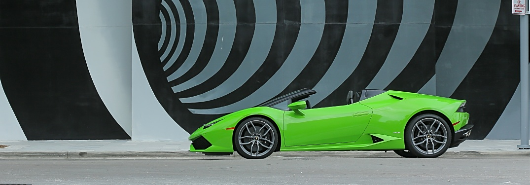 When was the first Lamborghini V10?