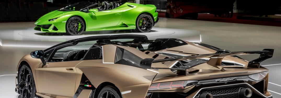 Which Lamborghini convertible is right for you?