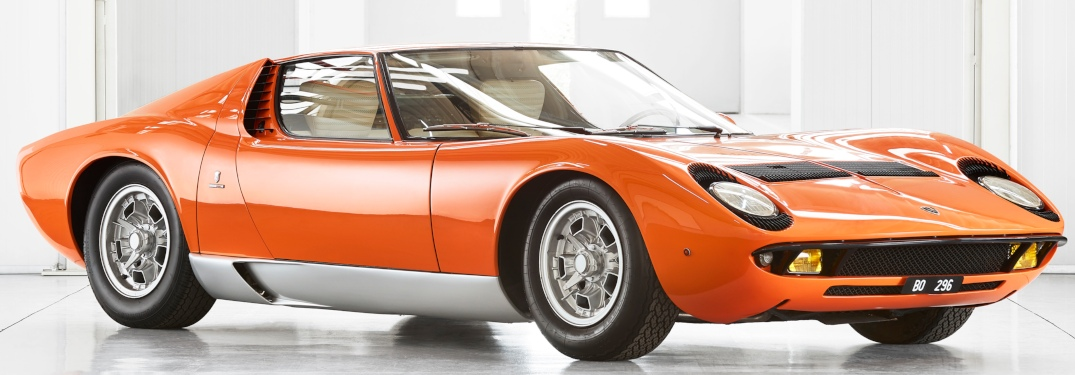 Famous Lamborghini Miura from iconic movie rediscovered