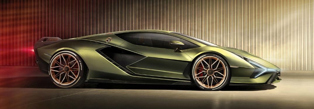 View the Unveiling and Walkaround of the Lamborghini Sián