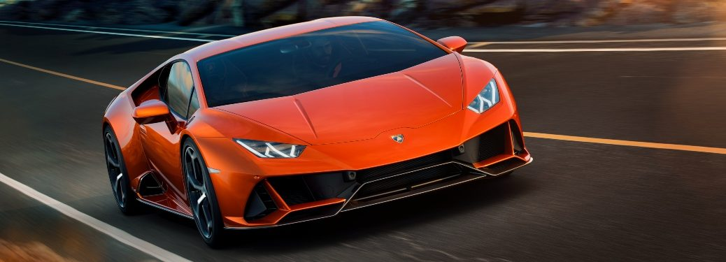 Huracan EVO 3-4 front ambient