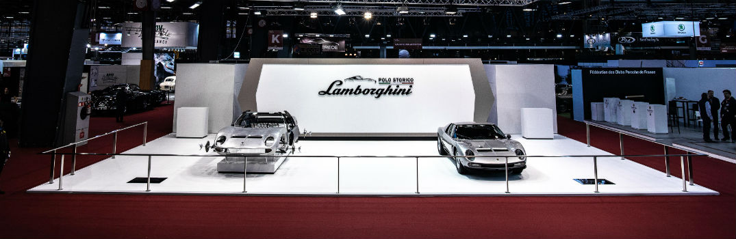 Check out these Restored Models from Lamborghini Polo Storico