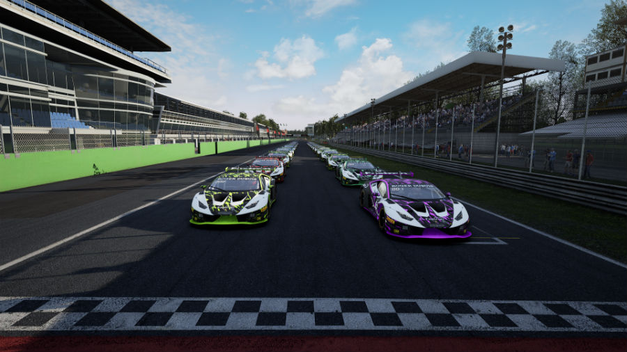 Assetto Corsa Competizione The Real Race Vehicles Lined Up