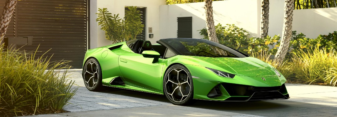 2020 Lamborghini Huracan EVO Spyder Engine and Performance