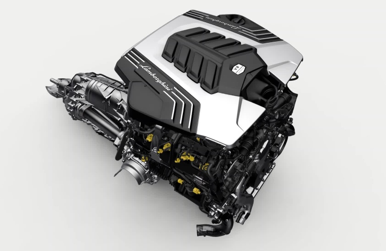 Lamborghini-Urus-engine-and-transmission