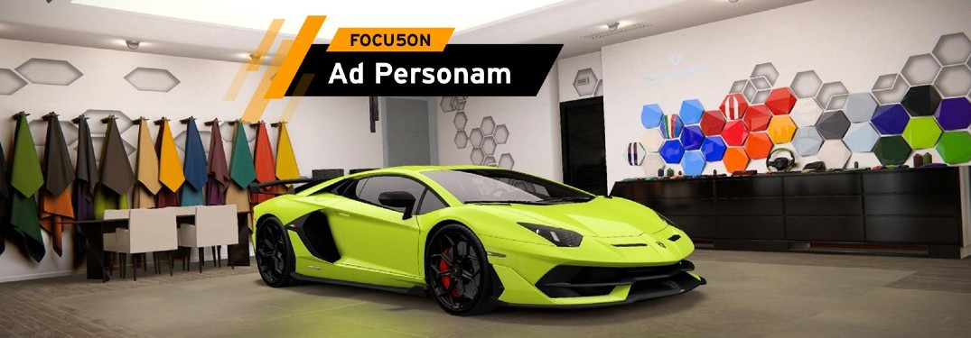 What Makes the Lamborghini Ad Personam Unique?