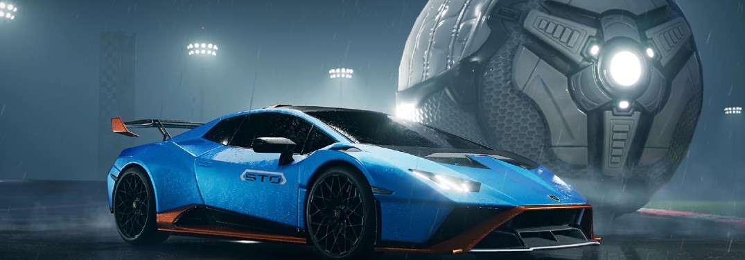 Lamborghini Huracan STO Makes Its Rocket League Debut