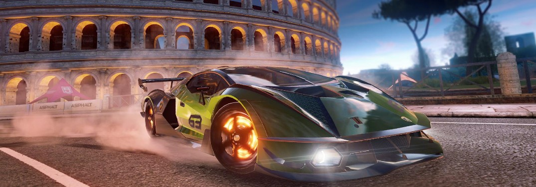 Which Lamborghini Model Made Its Mobile Game Debut?