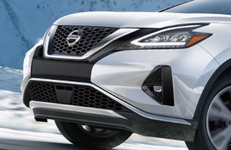 The front exterior of the 2021 Nissan Murano