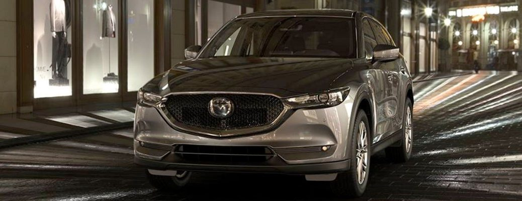 Stylized image of 2019 Mazda CX-5 front grille