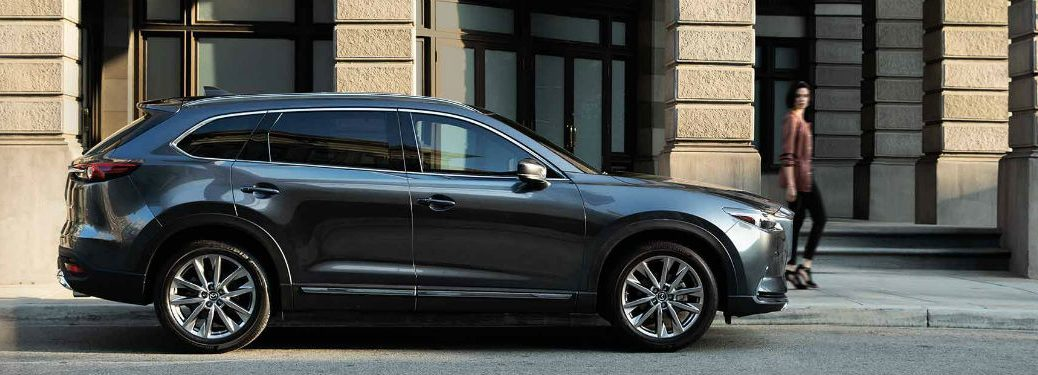 2019 Mazda CX-9 parked on city road