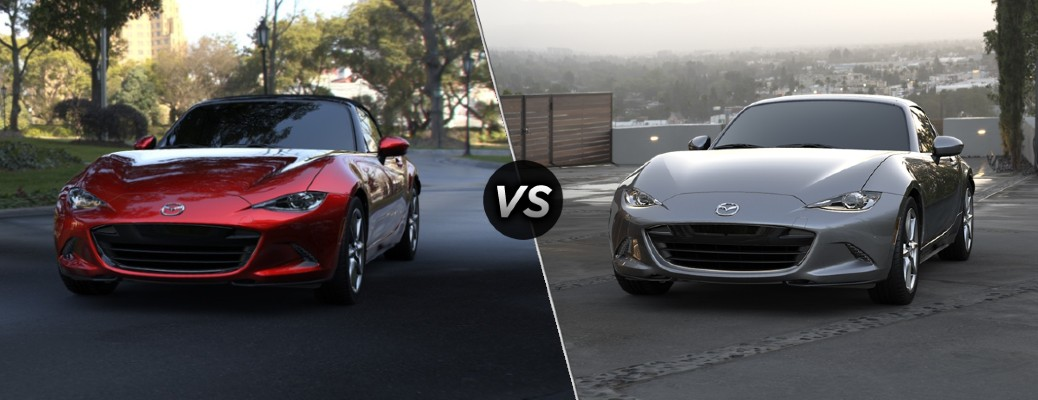 What is the Difference Between the 2020 Mazda MX-5 Miata and the 2020 Mazda MX-5 Miata RF?