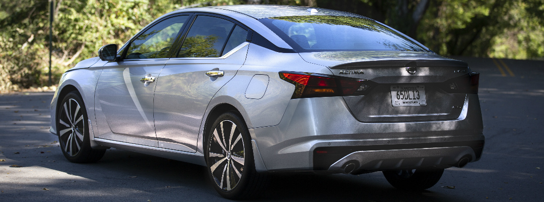 2019 Nissan Altima Exterior And Interior Color Options