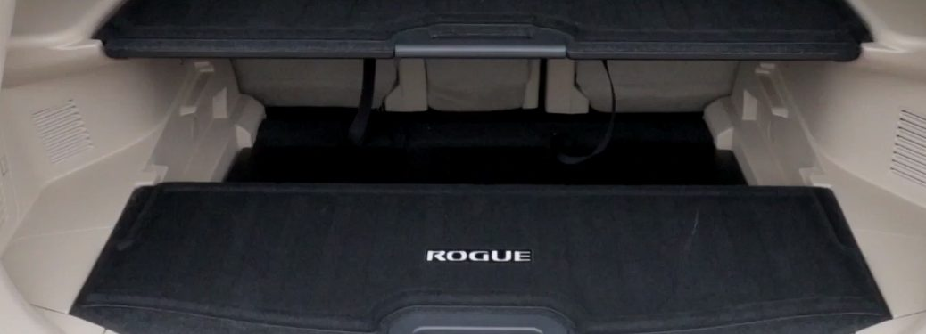 Divide-N-Hide Cargo System in the Nissan Rogue