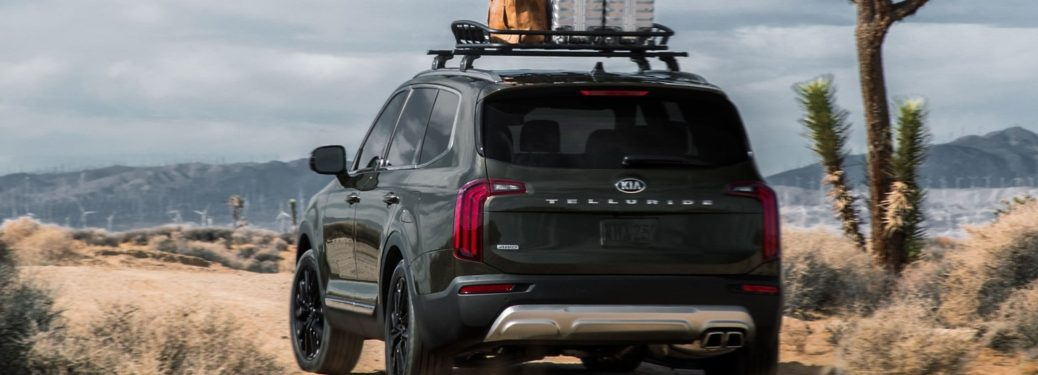 Rear view of a 2020 Kia Telluride