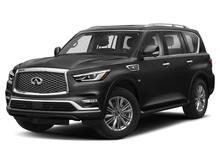 2020_Infiniti_QX80_Luxe APPLE CAR PLAY, SUNROOF, 3RD ROW SEATS, REAR CLIMATE_ Plano TX