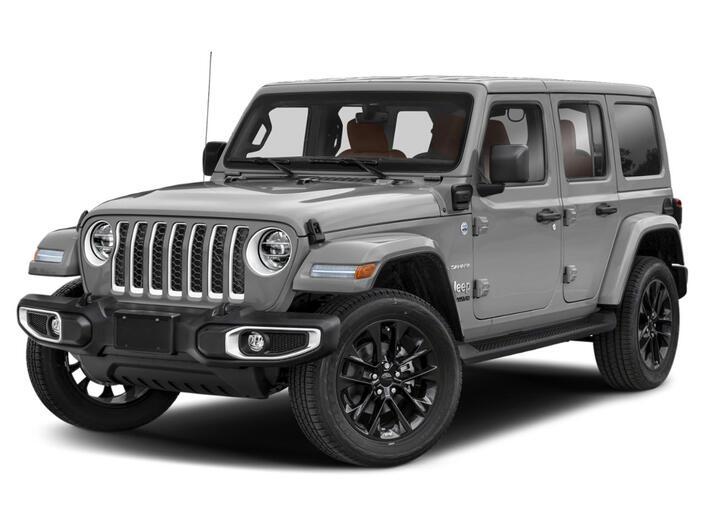 2021 Jeep Wrangler 4xe WRANGLER SAHARA 4xe Racine WI