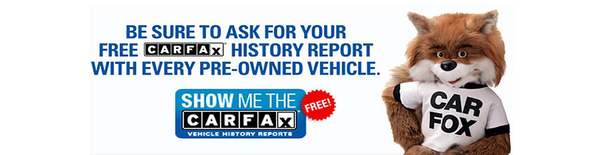 Free Car Fax History Report