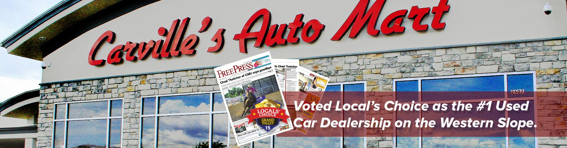 #1 Used Car Dealership on the Western Slope