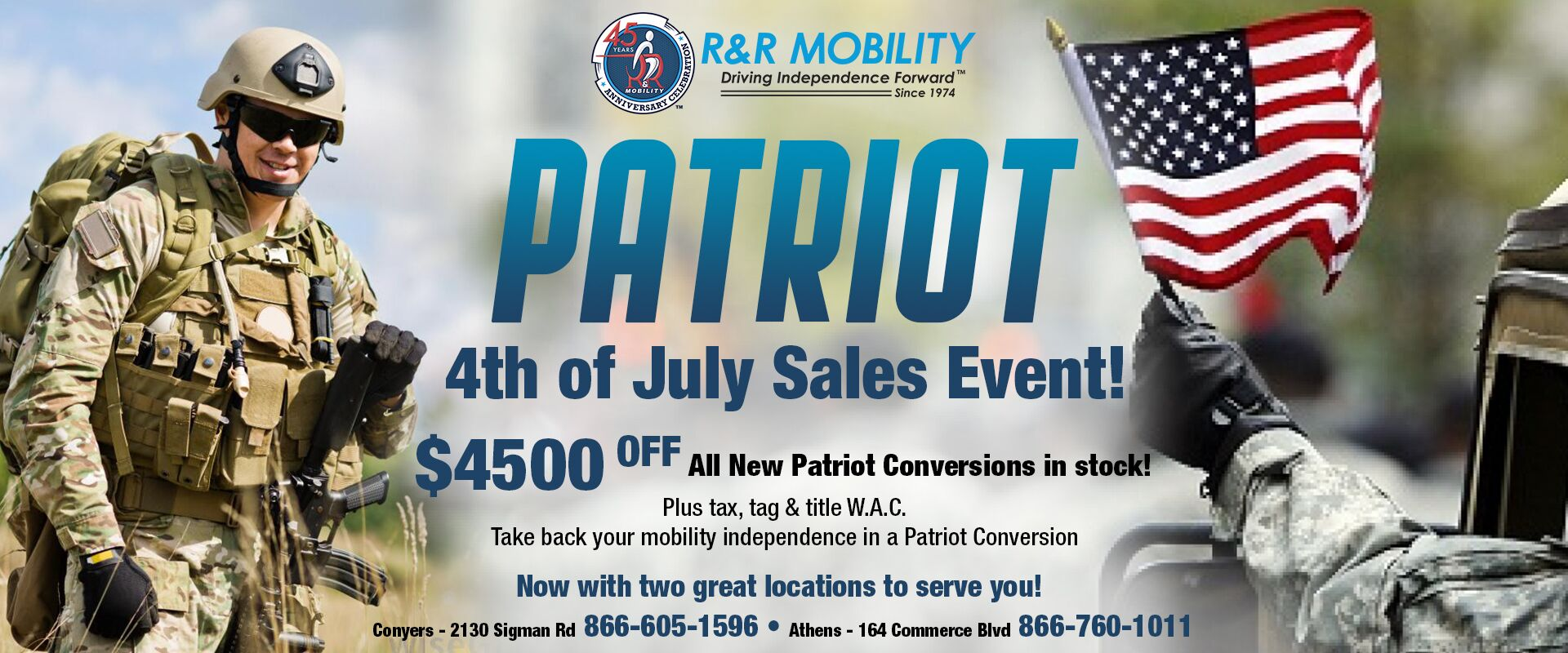 Patriot Sales Event