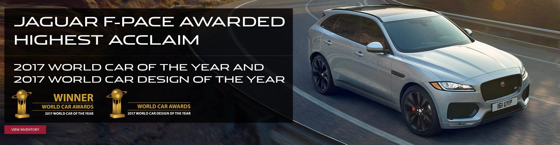F-PACE World Car of the Year