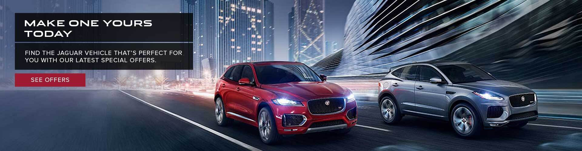 National Offers Jaguar