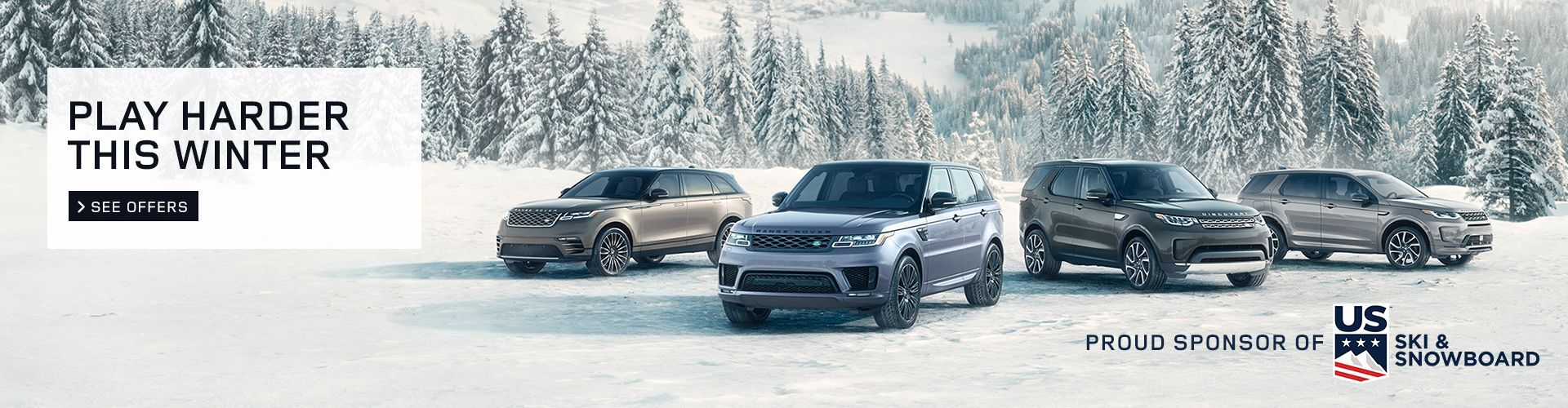 Land Rover Play Harder Winter Campaign
