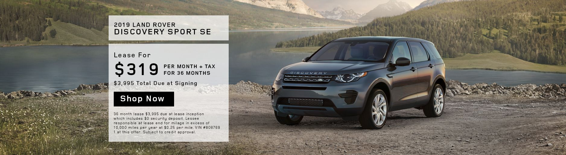 Discovery Sport Lease