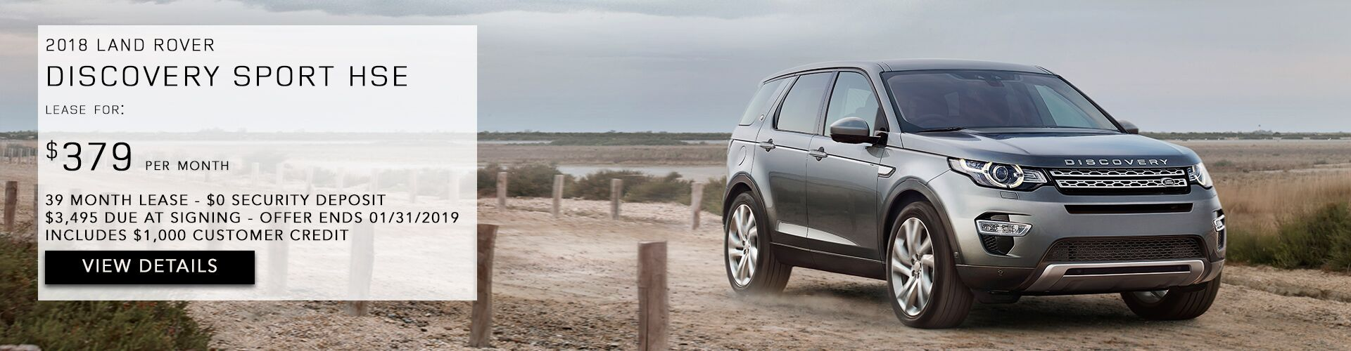 Jan Discovery Sport HSE