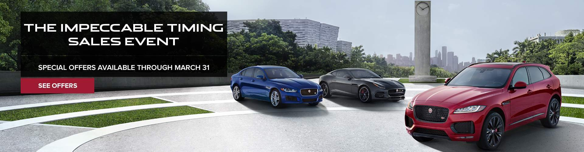 Jaguar Spring Sales Event
