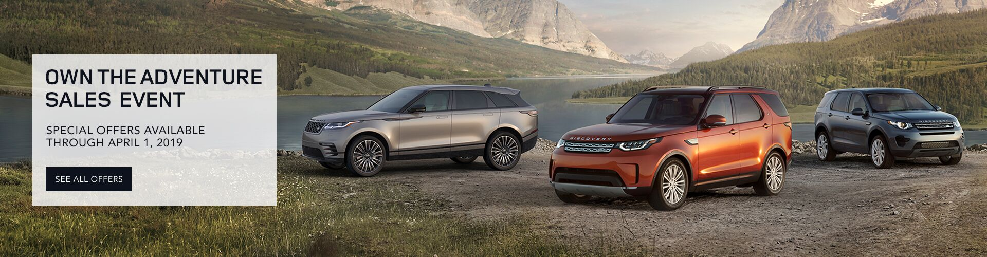 2019 Land Rover Spring Sales Event