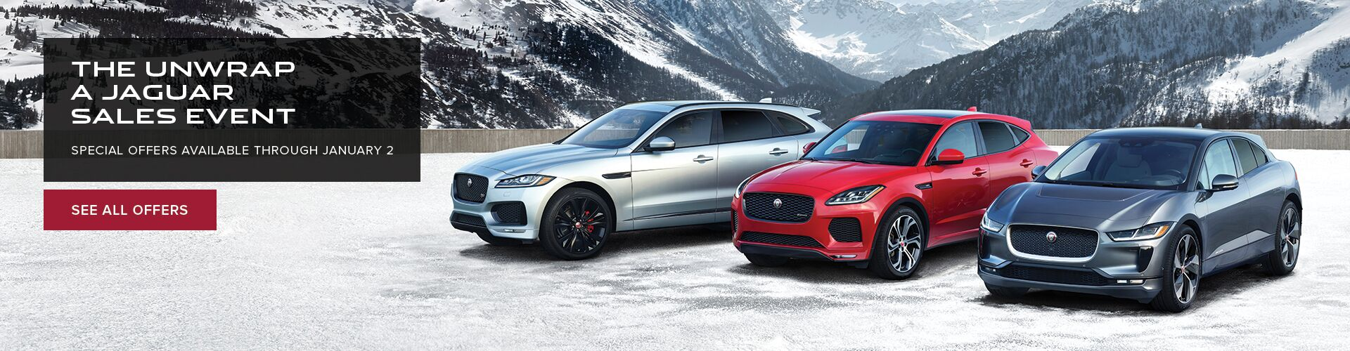 National - Jaguar Holiday Sales Event