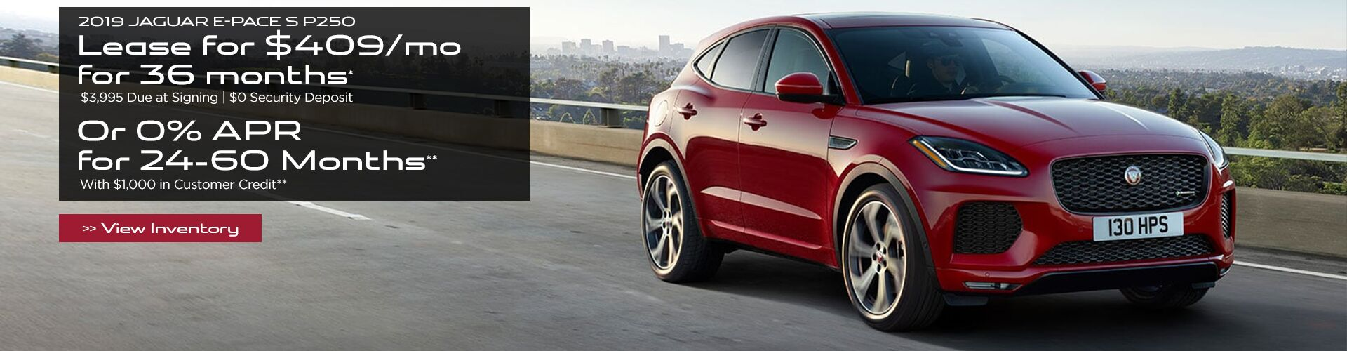 New 2019 Jaguar E-Pace in San Antonio TX, serving Boerne, San Marcos