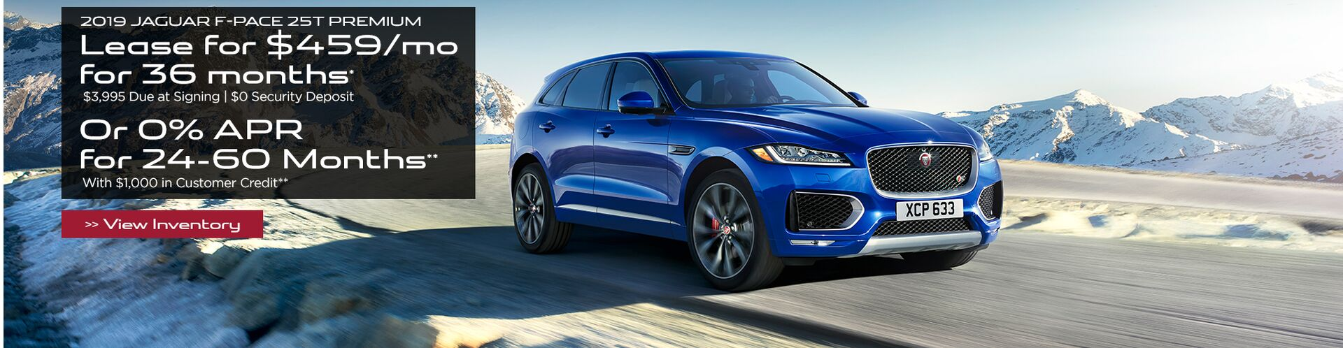 New 2019 Jaguar F-PACE in San Antonio TX, serving Boerne, San Marcos
